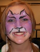 purple kitty